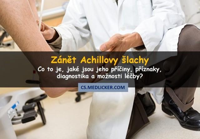 Achillova šlacha - Vše o zdraví