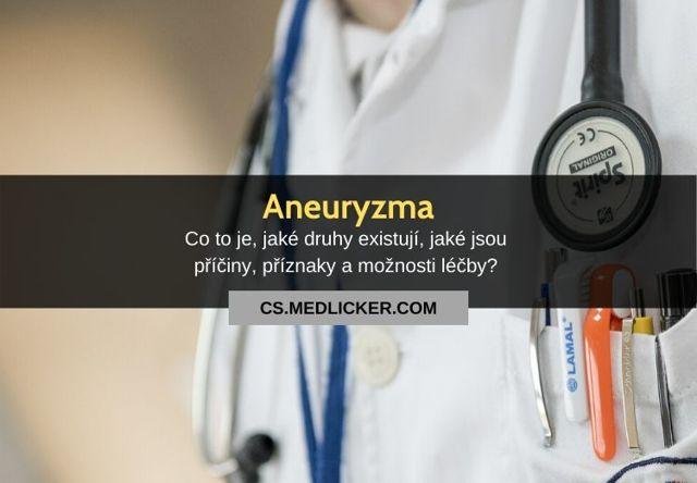 Aneurysma mozku - Vše o zdraví