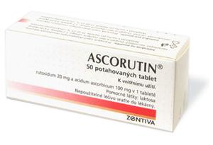 Ascorutin - Vše o zdraví