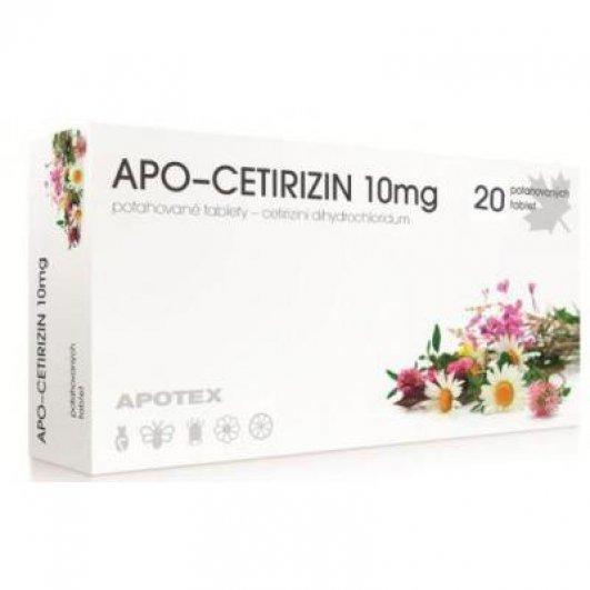Cetirizin - Vše o zdraví
