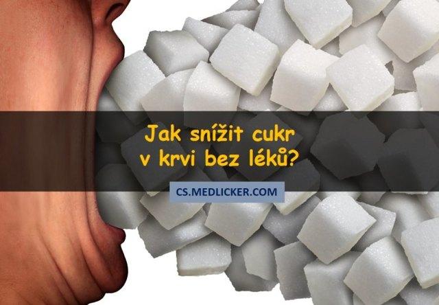 Hladina cukru v krvi - Vše o zdraví