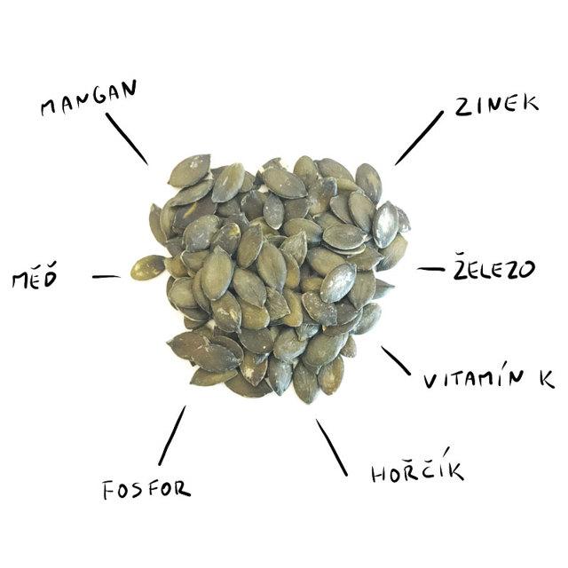 Dýňová semínka - Vše o zdraví