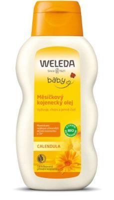 WELEDA Měsíčkový kojenecký olej 200ml – vše o zdraví