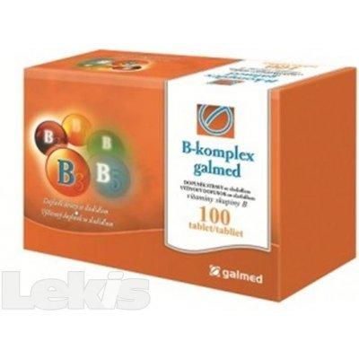 B-komplex PREMIUM Galmed 100 tablet – vše o zdraví