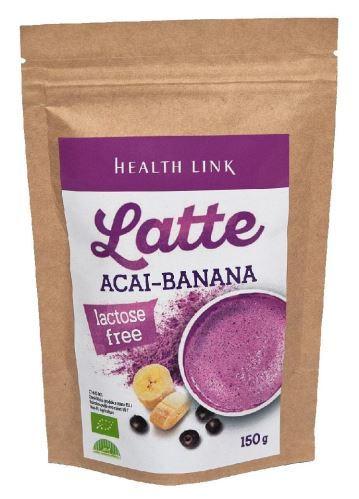 Acai - banán BIO latte 30g – vše o zdraví